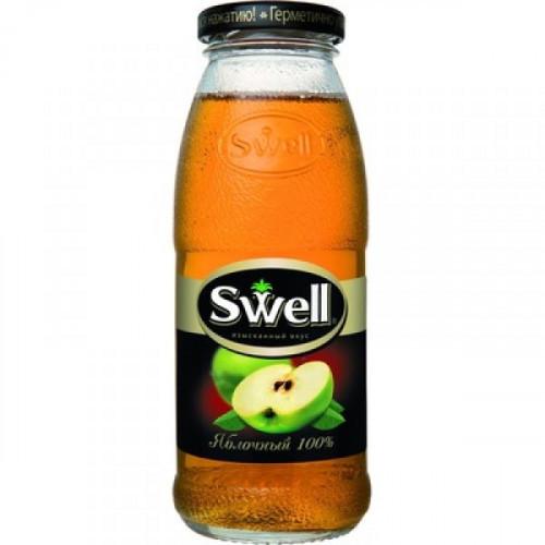 Сок Swell яблочный 0.25 литра 8 штук в упаковке