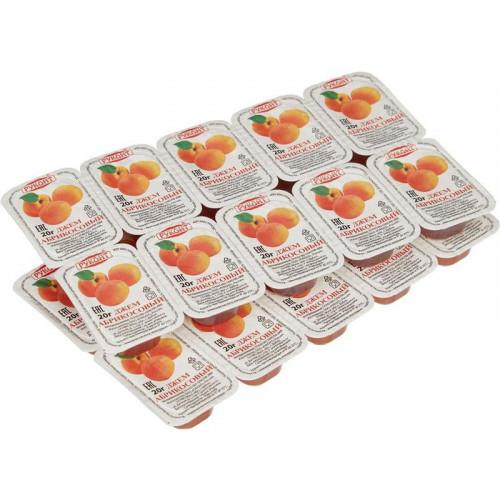 Джем порционный Руконт абрикос 20 штук в упаковке