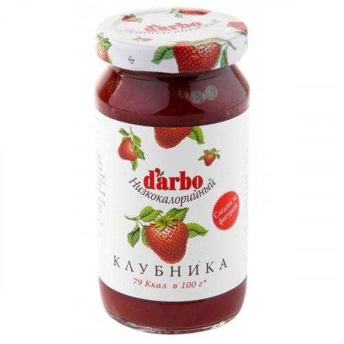 Конфитюр Darbo клубника 220 грамм