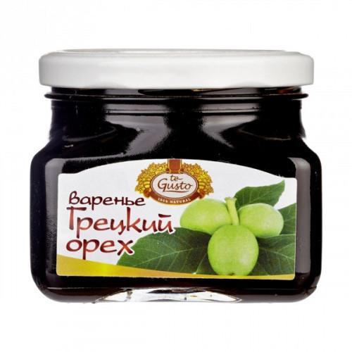 Варенье te Gusto грецкий орех 430 грамм