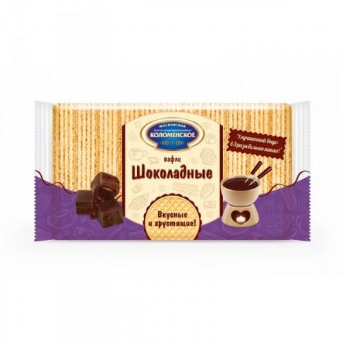 Вафли Коломенские шоколадный вкус 220 грамм