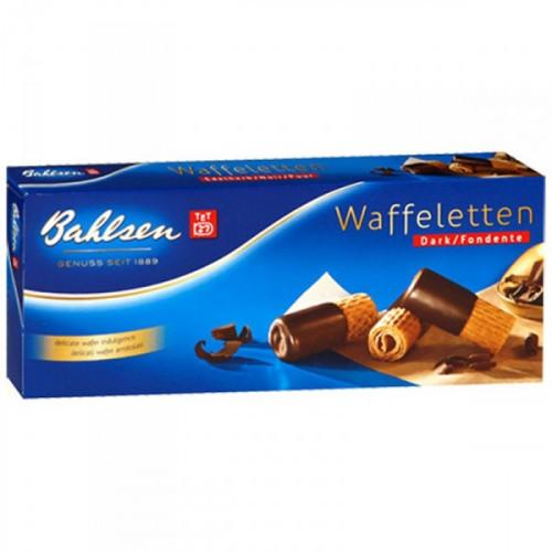 Вафли трубочки Bahlsen Waffelettem Dark 100 грамм