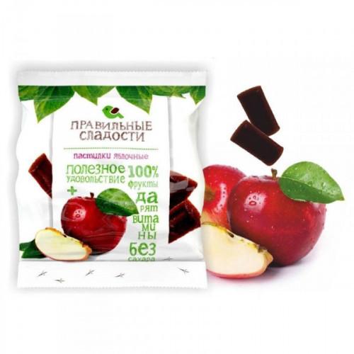 Мармелад Правильные сладости яблочные пастилки 90 грамм