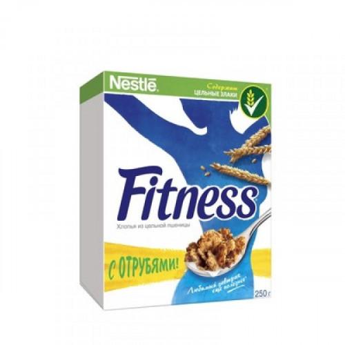 Хлопья Nestle Fitness из цельной пшеницы 250 грамм
