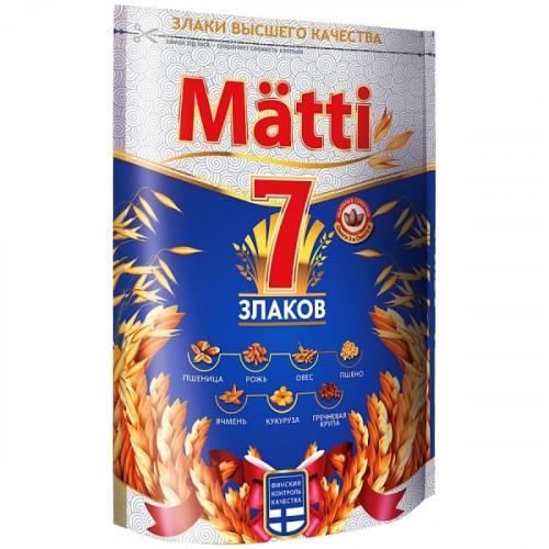 Каша Matti 7 злаков 3 минуты