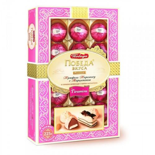 Трюфели шоколадные Победа тирамису с сыром маскарпоне 225 грамм