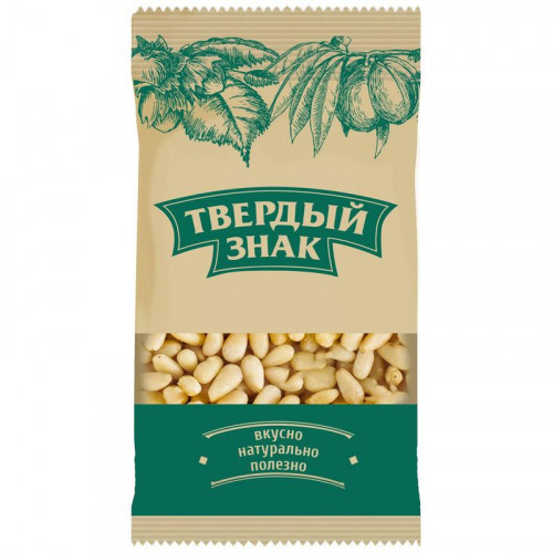 Кедровый орех Твердый знак  50 грамм