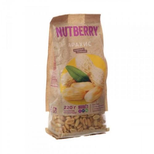 Орехи NUTBERRY арахис 220 грамм