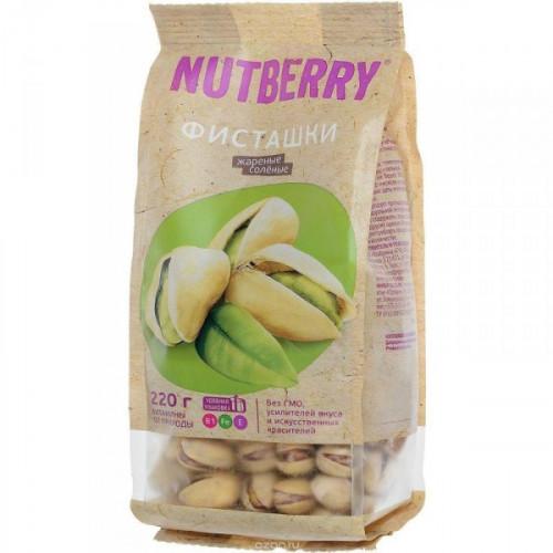 Орехи NUTBERRY фисташки 220 грамм