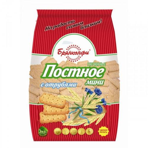 Печенье Постное мини с отрубями 350 грамм