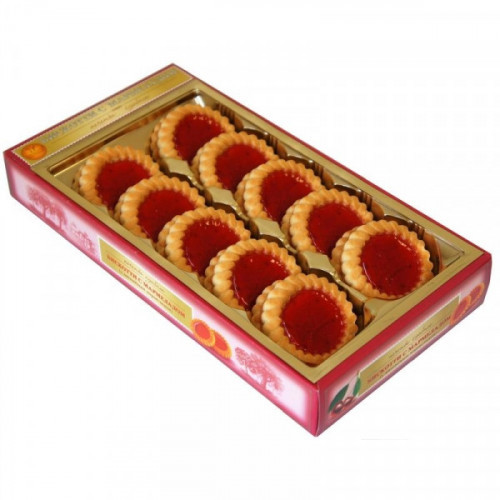 Печенье Бискотти с вишневым мармеладом 235 грамм