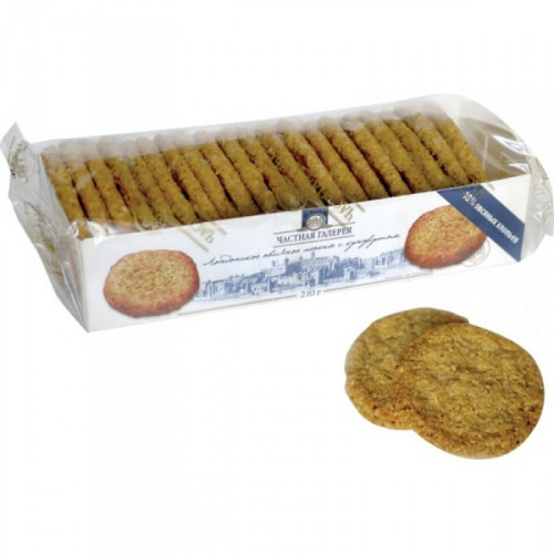 Печенье Лондонское овсяное с кунжутом 210 грамм