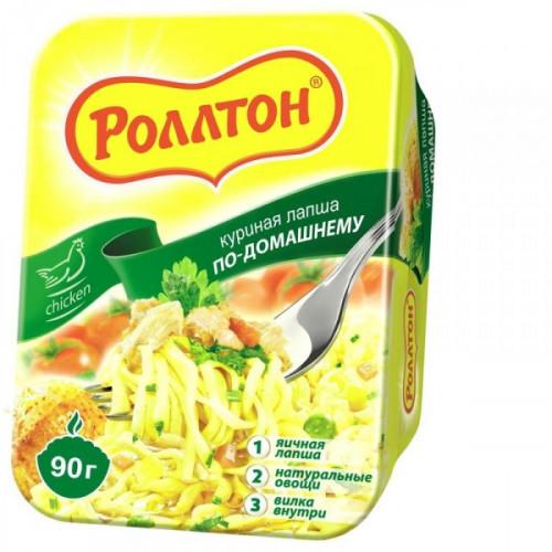 Лапша Роллтон по-домашнему со вкусом курицы 90 грамм