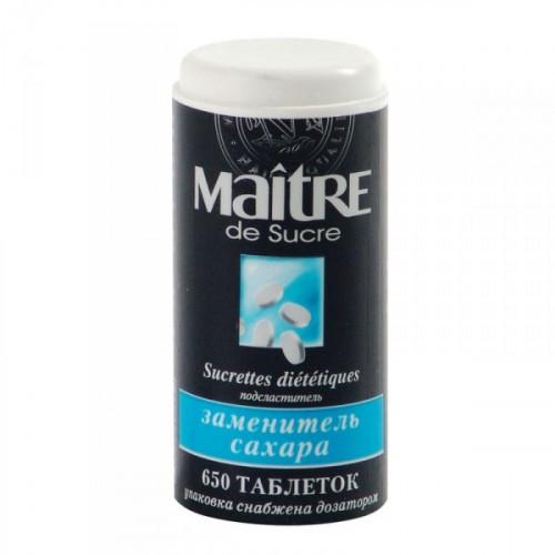 Сахарозаменитель Maitre de Sucre 650 таблеток