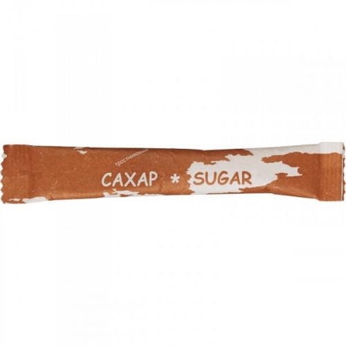 Сахар порционный Материк тростниковый в стиках 200 штук по 5 грамм