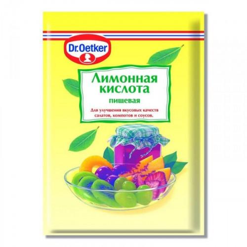 Кислота лимонная Dr.Oetker 50 грамм