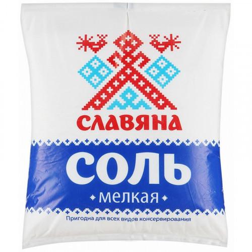 Соль Славяна мелкая 1 кг