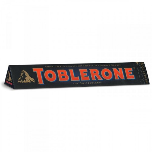 Шоколад Toblerone горький с нугой 100 грамм