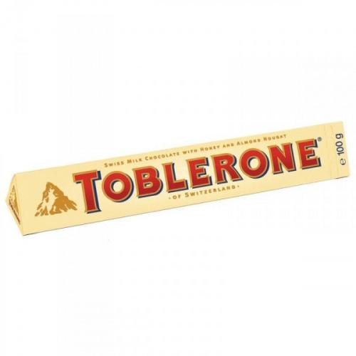 Шоколад Toblerone молочный с нугой 100 грамм