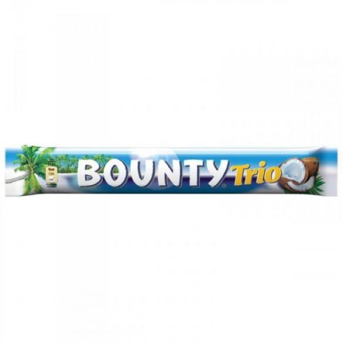 Шоколадный батончик Bounty trio 82.5 грамма