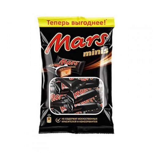 Шоколадные батончики Mars мини 182 грамма