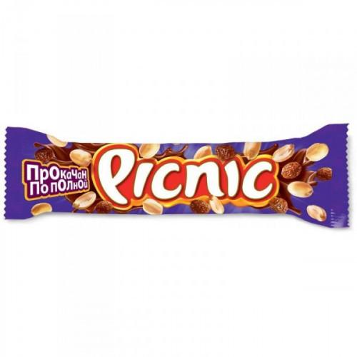 Шоколадный батончик Picnic 38 грамм