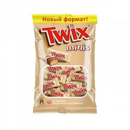 Шоколадный батончик Twix мини 184 грамма