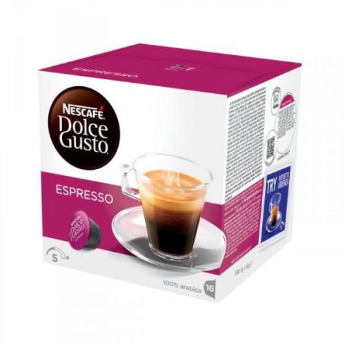 Капсулы для кофемашин Nescafe Dolce Gusto Эспрессо 16 штук в упаковке
