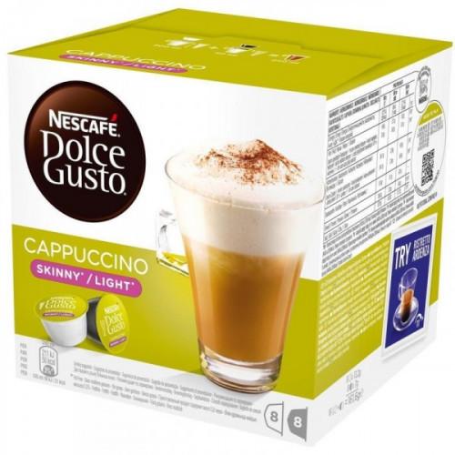 Капсулы для кофемашин Nescafe Dolce Gusto Капучино 16 штук в упаковке