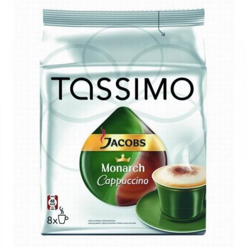 Капсулы для кофемашин Tassimo Capuchino 8 штук в упаковке