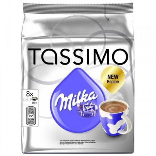 Капсулы для кофемашин Tassimo Milka Горячий шоколад 8 штук в упаковке