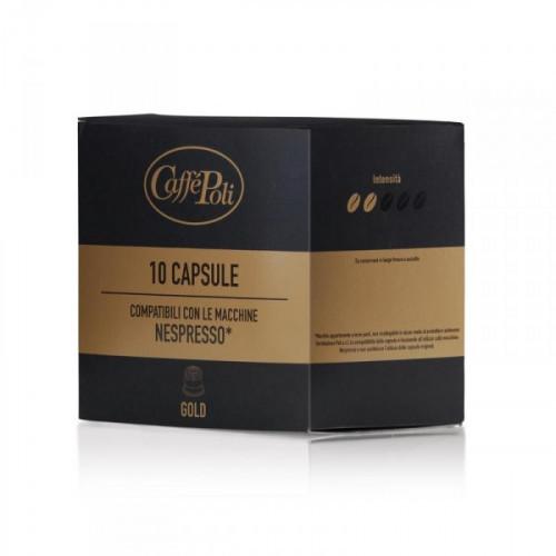 Капсулы для кофемашин Caffe Poli Gold 10х5,2 грамма