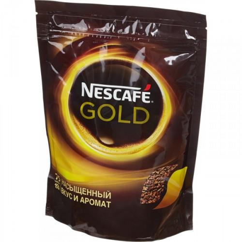 Кофе растворимый Nescafe Gold 150 грамм пакет
