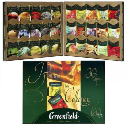 Чай Greenfield ассорти 120 пакетиков