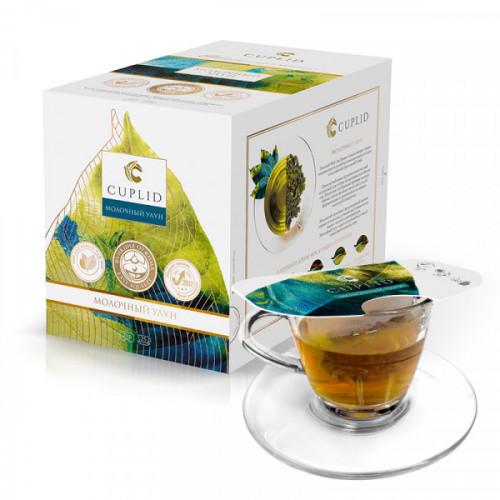 Чай Cuplid Молоный Улун зеленый, 25 пакетиков
