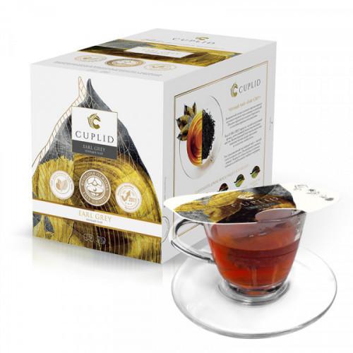 Чай Cuplid с бергамотом черный, 25 пакетиков