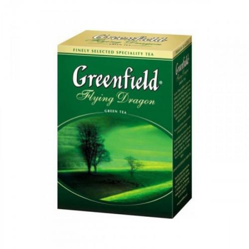 Чай Greenfield Flying Dragon зеленый листовой 100 грамм