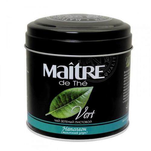 Чай Maitre Vert Наполеон зеленый листовой молочный улун 100 грамм