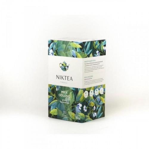 Чай Niktea Молочный Улун зеленый 25 пакетиков