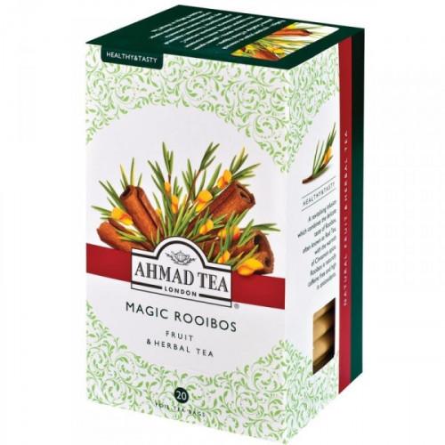Чай Ahmad Tea Magic Rooibos травяной с корицей 20 пакетиков