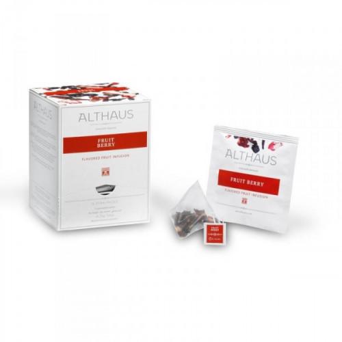 Чай Althaus Pira Packs Fruit Berry фруктовый 15 пакетиков