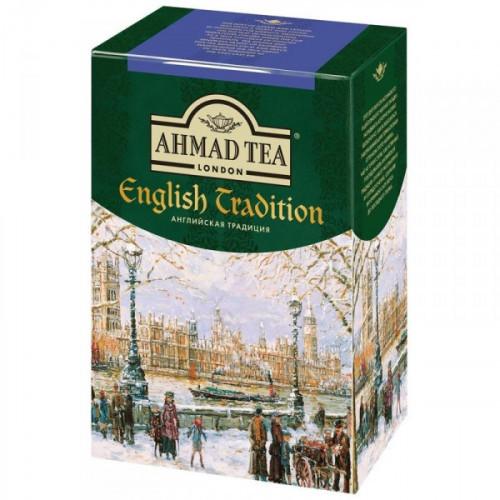 Чай Ahmad Tea Английская традиция черный листовой 100 грамм