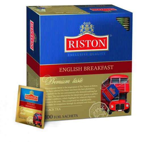 Чай Riston English Breakfast Tea черный 100 пакетиков