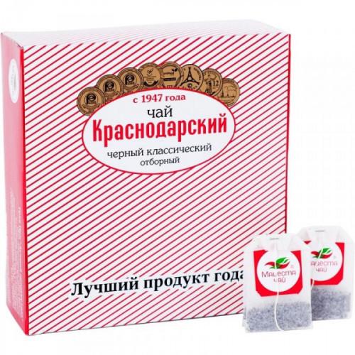 Чай Мацеста Краснодарский черный классический отборный 100 пакетиков