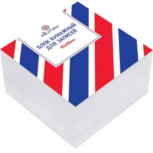 Блок для записи 9х9х5, Attomex, белый, 55-60 г/м2, 70 %CIE