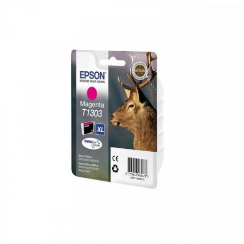 Картридж струйный Epson C13T13034012 пурпурный повышенной емкости для B42WD/SX525WD