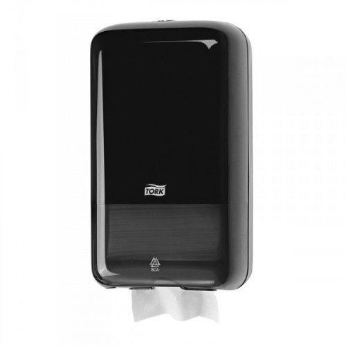 Держатель для туалетной бумаги в листах Tork Elevation Т3 556008 пластиковый черный
