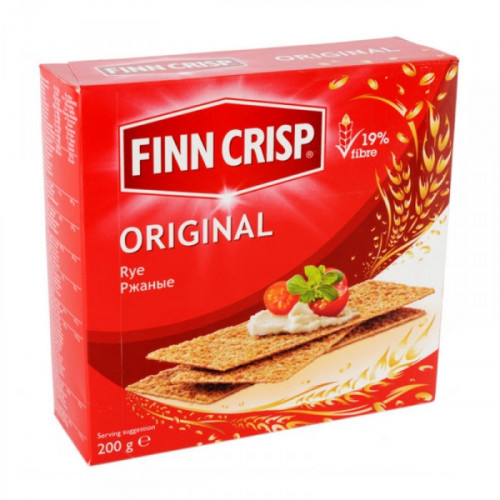 Хлебцы FINN CRISP Original Taste ржаные 200 грамм