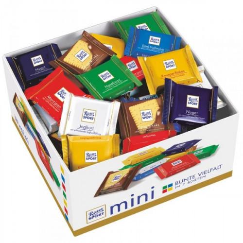 Шоколад Ritter sport Bunter Mix ассорти 84 штуки по 16 грамм