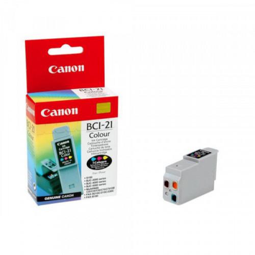Картридж струйный Canon BCI-21С (0954A357) цветной